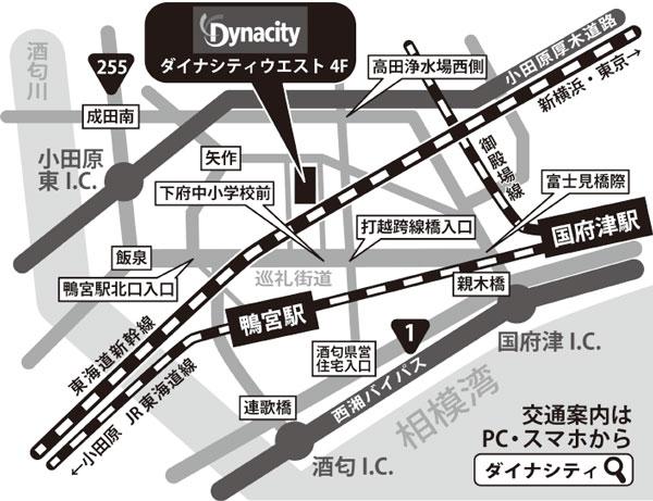ダイナシティ地図
